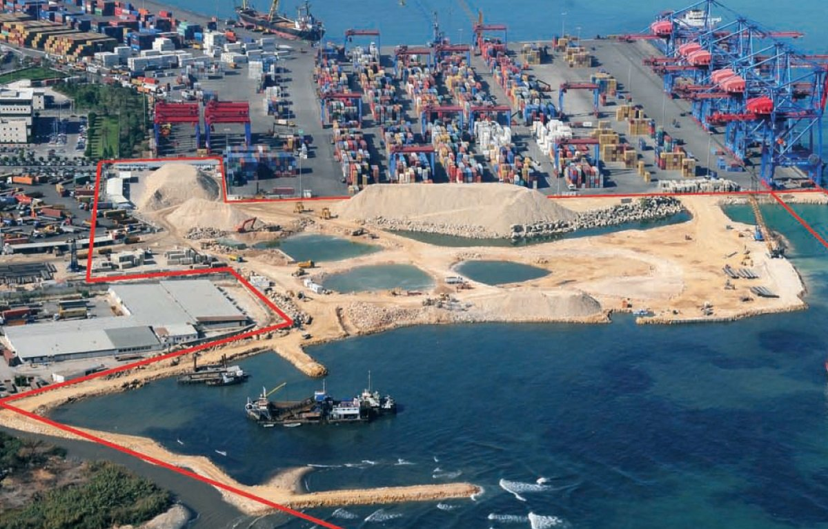 Extension of Port of Beirut: Quay 16 Container Terminal