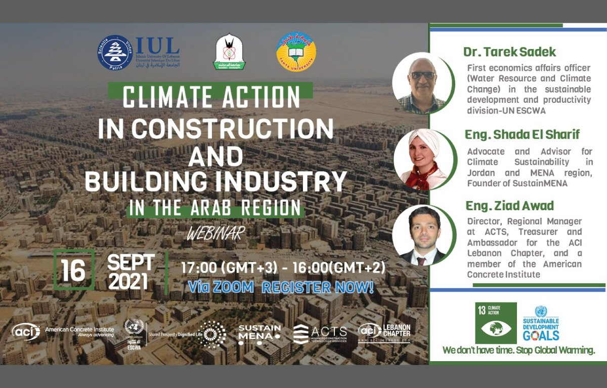 Climate Action in Construction and Building Industry Webinar