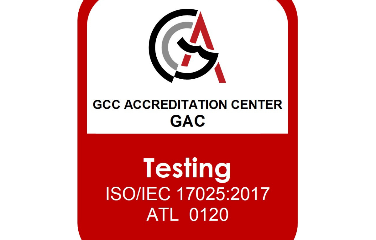 ACTS - KSA branch has been accredited by the Gulf Accreditation Center (GAC) for its fire resistance scope